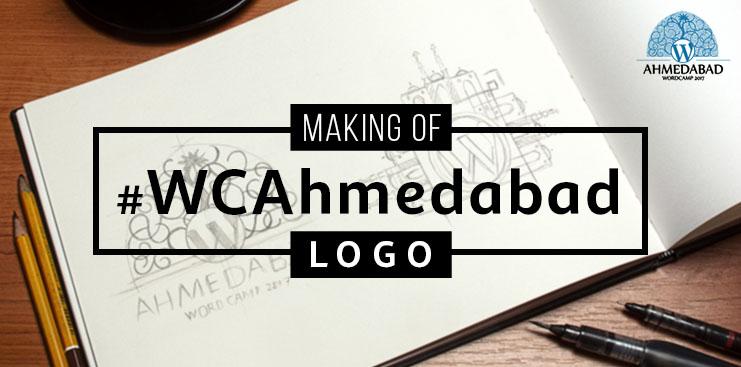 Making of WCAhmedabad Logo