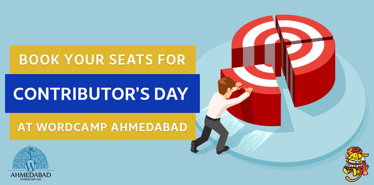Book your seats for Contributor's Day at WordCamp Ahmedabad